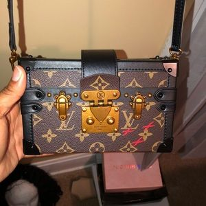 Louis Vuitton Square box purse.